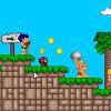 Приключения пещерного человека - игра в стиле марио