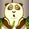 Панда в пузыре - ударь в гонг