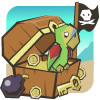 Пиратский сундук - убери одинаковые предметы