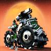 Замочи тонны монстров космическим танком-джипом