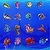 Найди одинаковые морские фигурки