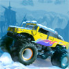 Monster Truck гонки зимой