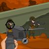 Убийца солдат - снайпер защищает укрепления